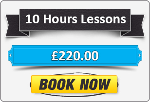 10 Hour Manual Driving Lessons £205