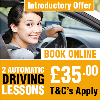 2 Automatic Driving Lessons £35
