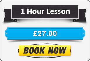 1 Hour Manual Driving Lesson £22