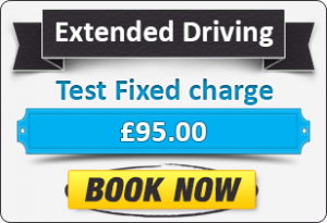 Extended Driving Test Fee - £95