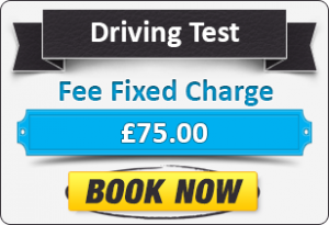 Driving Test Fee £75