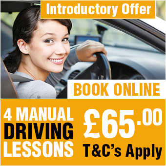 4 Manual Driving Lessons £65