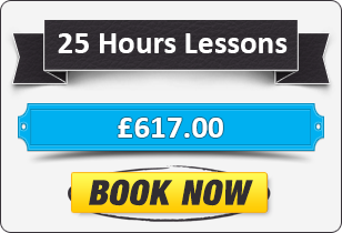 Manual Driving Package - 25 Hours for £617