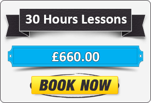 30 Hour Manual Driving Lessons £660