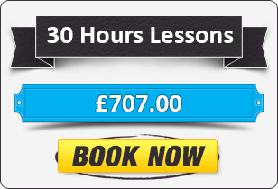 Manual Driving Package - 30 Hours for £707