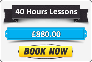 40 Hour Manual Driving Lessons £880