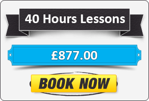 Manual Driving Package - 40 Hours for £877