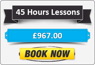 Manual Driving Package - 45 Hours for £967