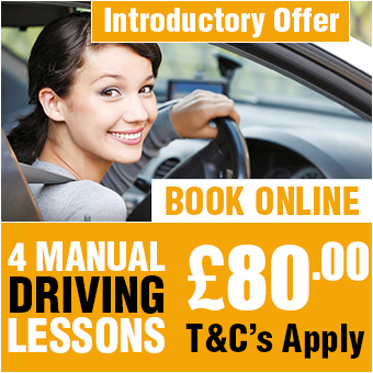 4 Manual Driving Lessons £80