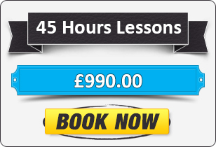 45 Hour Manual Driving Lessons £990