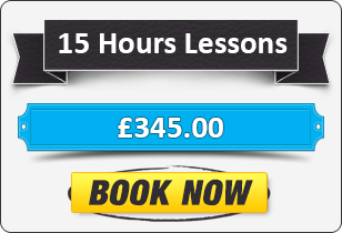 15 hour Automatic Driving Lessons £345