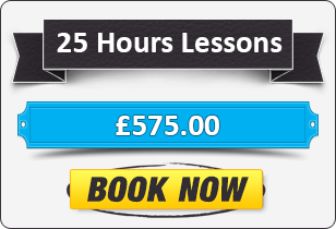 25 Hour Automatic Driving Lessons £575