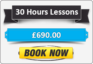 30 Hour Automatic Driving Lessons £690