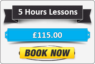 5 Hour Manual Driving Lessons £105