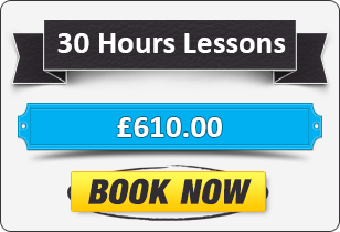 30 Hour Manual Driving Lessons £610