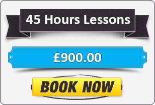 45 Hour Manual Driving Lessons £900