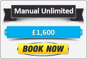 Unlimited Manual Driving Lessons £1600
