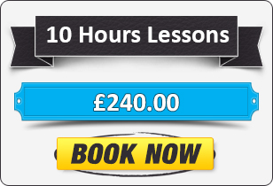 10 hour Automatic Driving Lessons £240