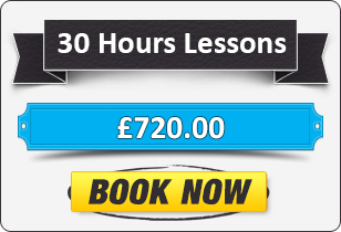 30 Hour Automatic Driving Lessons £720
