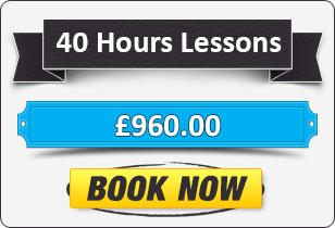40 Hour Automatic Driving Lessons £960