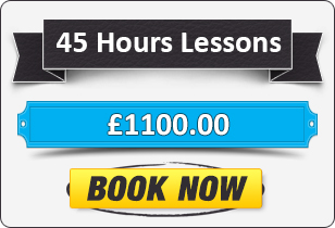 45 Hour Automatic Driving Lessons £1100