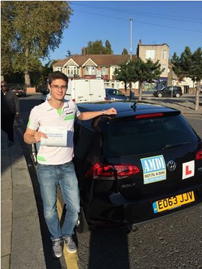 Mr_Vladimir - passed driving test in Chingford