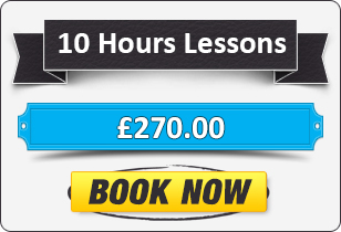 10 Hours Automatic & Manual Evening and Weekend Driving Lesson £270
