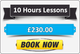 10 Hour Manual Driving Lessons £220