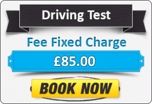 Driving Test Fixed Charge Fee £85