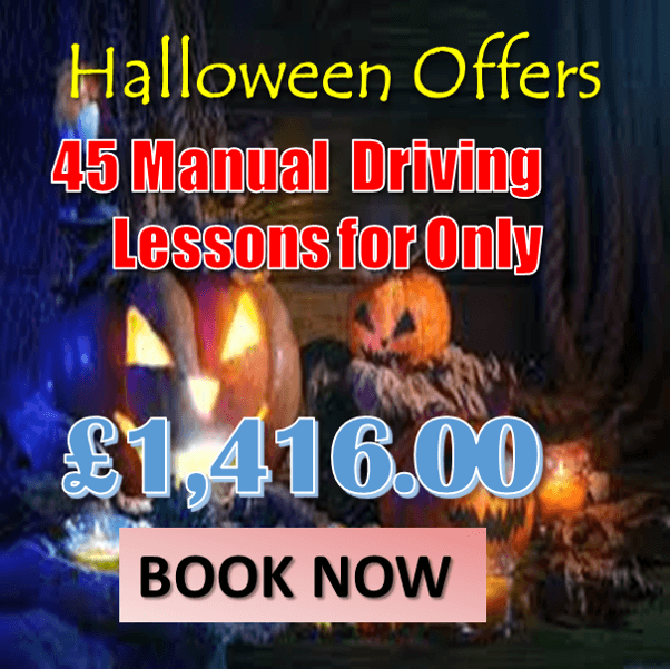45 Manual Driving Lessons –£1,416!